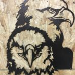 Double Eagle CNC Plasma Wall Art
