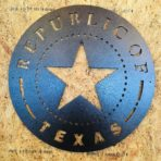 Republic of Texas Seal CNC Plasma Art