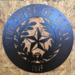 Texas Seal CNC Plasma Art