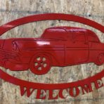 56 Chevy Welcome Sign