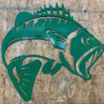 Bass CNC Metal Wall Art